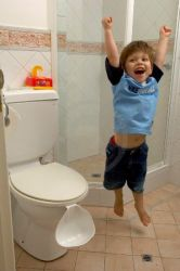 Fun and games potty training