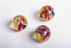 Inspiration Three red Marbles