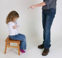 Punishment of child
